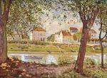 Городок Вильнев на берегу Сены (1872)