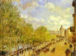 Набережная Малаке солнечным днём (1903)