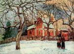 Каштаны в Лувесьенне (1872)