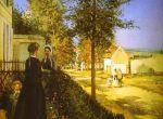 Дорога из Версаля в Лувесьенне (1870)