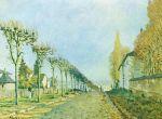 Дорога на Севр близ Лувесьена (1873)