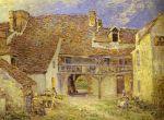 Двор фермы в Сен-Мамме (1884)