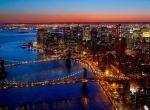 Бруклинский и Манхэттенский мосты, соединяющие Бруклин и Манхэттен