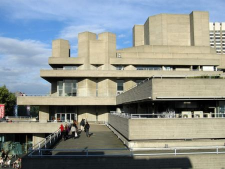 Royal National Theatre London - модернизм